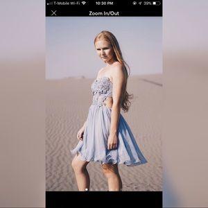 Silver/Blue Dress